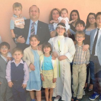 La famiglia Anania al completo